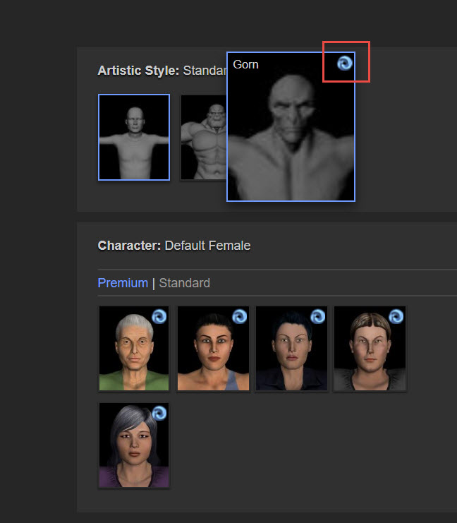 Accessing Premium Content with Cloud Credits for Character Generator