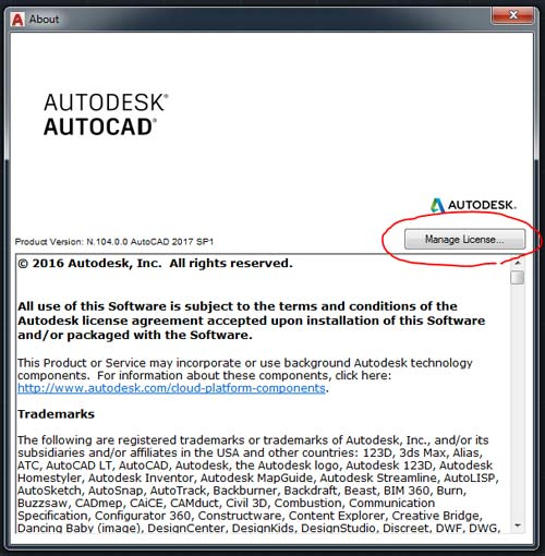 How to Change Serial Number of Autodesk Software | Search