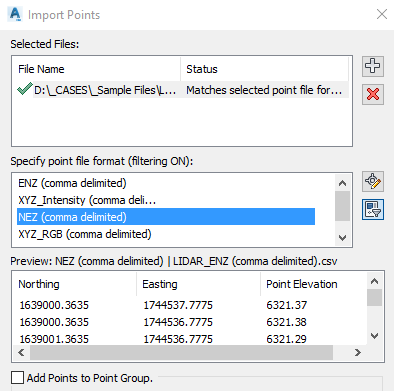 How to import point data from Excel into Civil 3D | Civil 3D