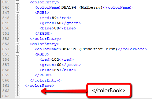 Color Books don\'t load in AutoCAD after adding custom Color Book ...