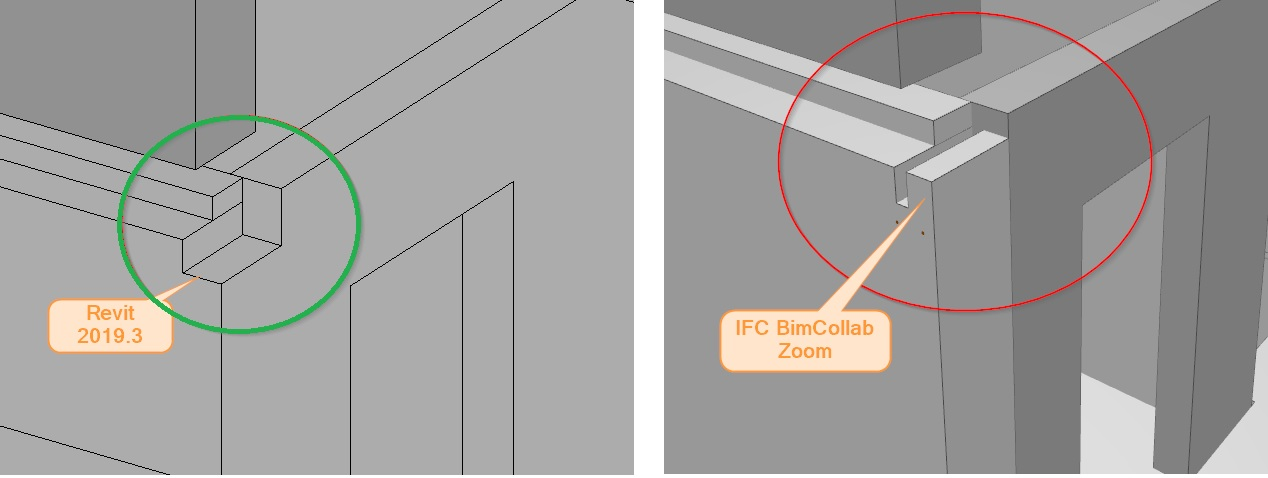 Wrong geometry exported to IFC file from Revit | Revit
