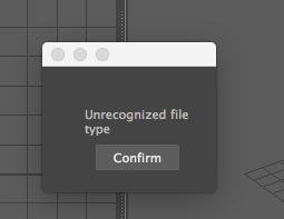 Không thể export hoặc import tệp STEP từ Maya 2019 trên Mac.