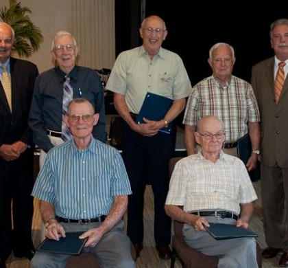 Our WW II Vets Honored for Their Service