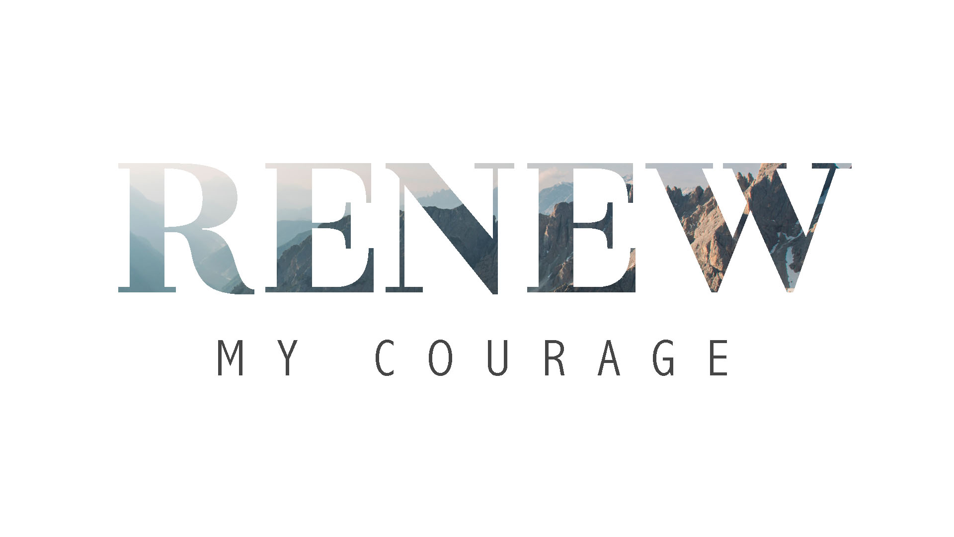 Aug. 30 – Renew My Courage