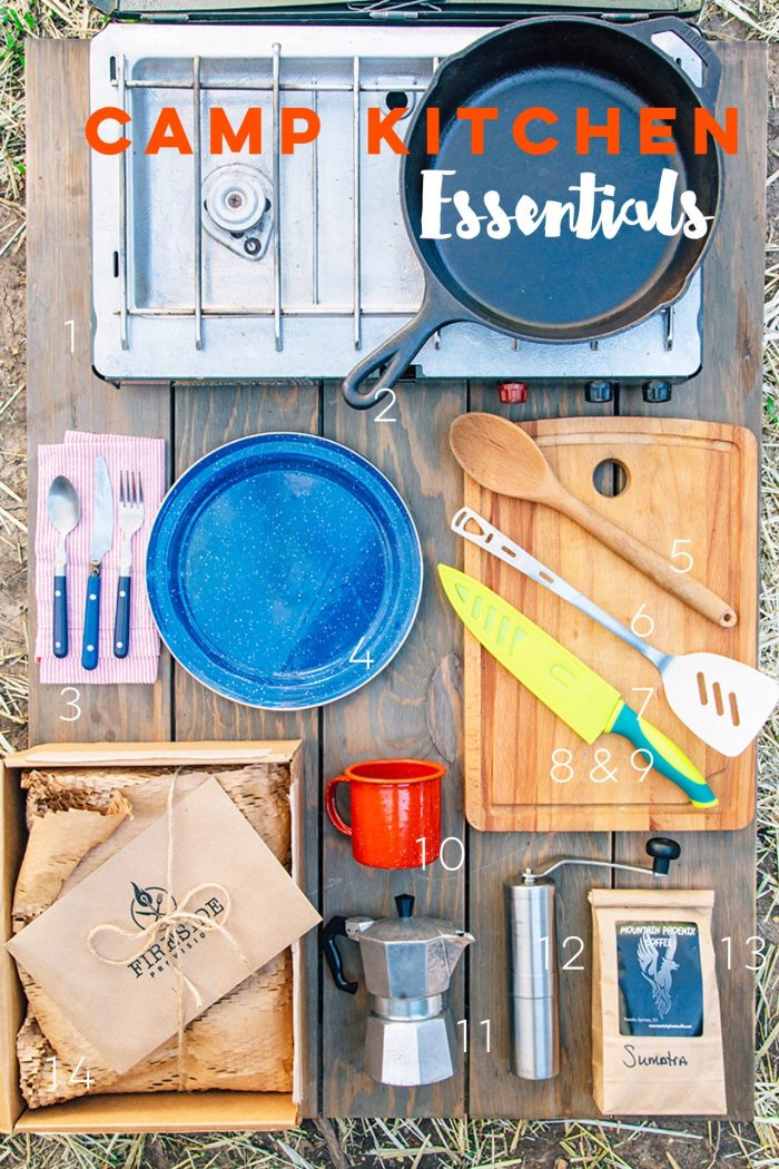 What to Pack: Camp Cooking
