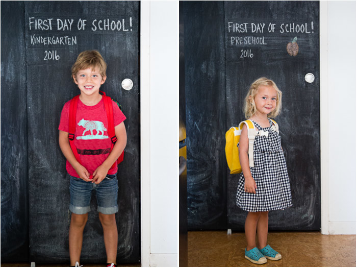First day of School 2016 2