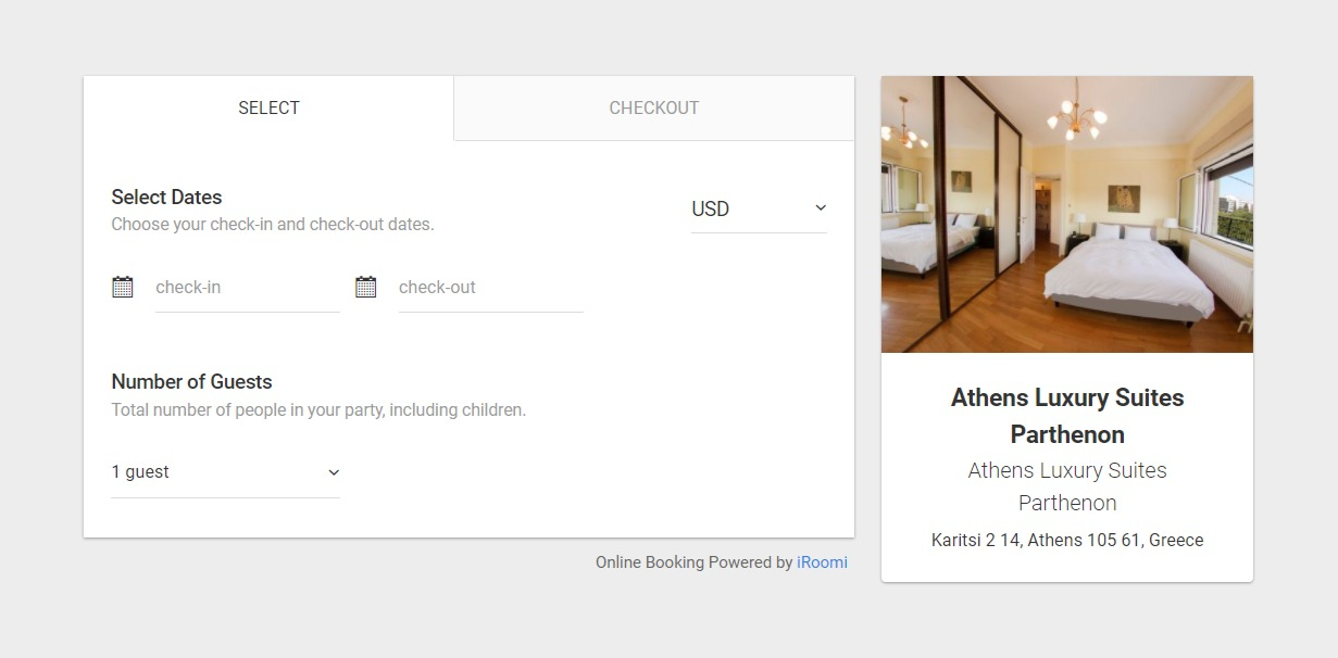 Vacation Rental & Hotel Booking System - iRoomi