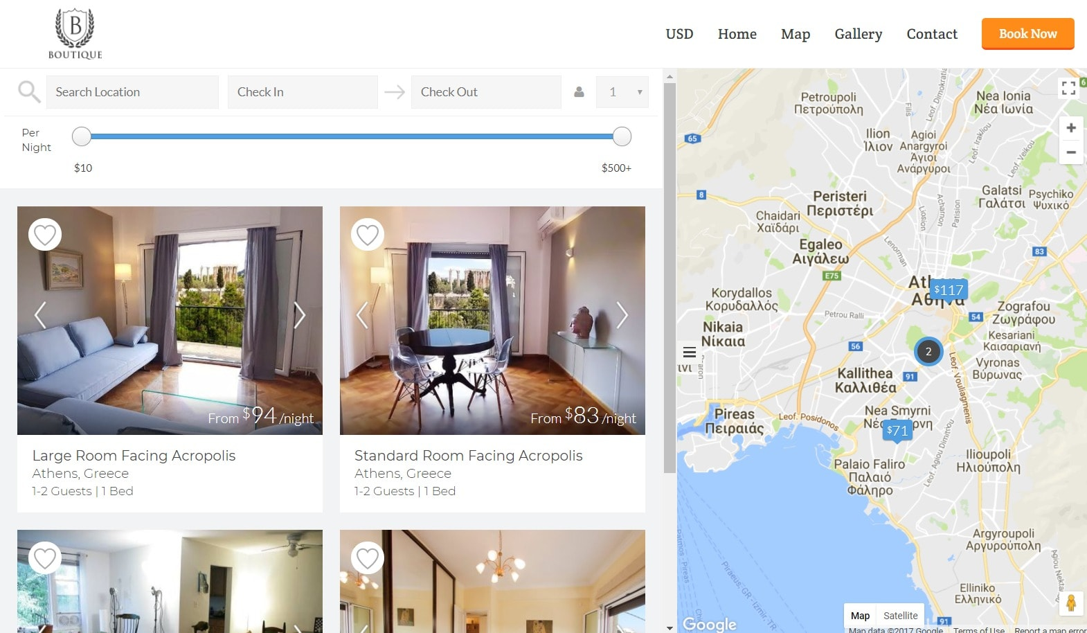 Easy to use listings dashboard