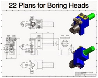 22 Boring Head Plans