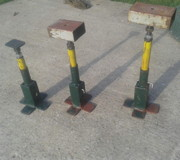 Adjustable stands.