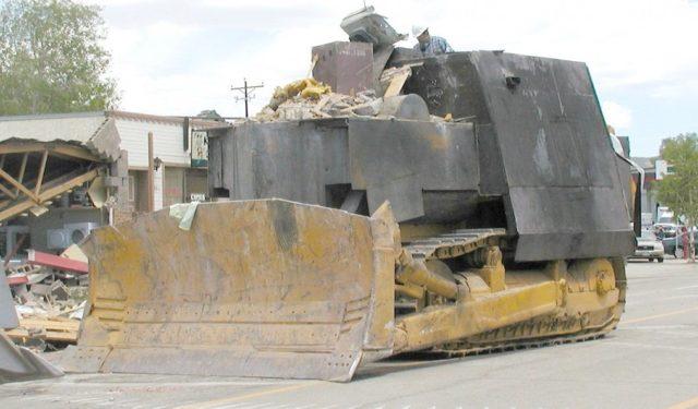 motorscraper o ruspa Killdozer3