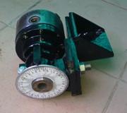 Lathe milling equipment.