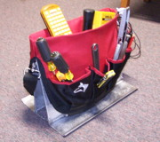 Un-bucket tool bag.