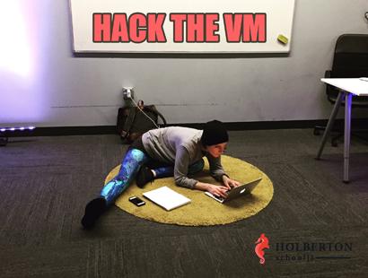 hack the vm!