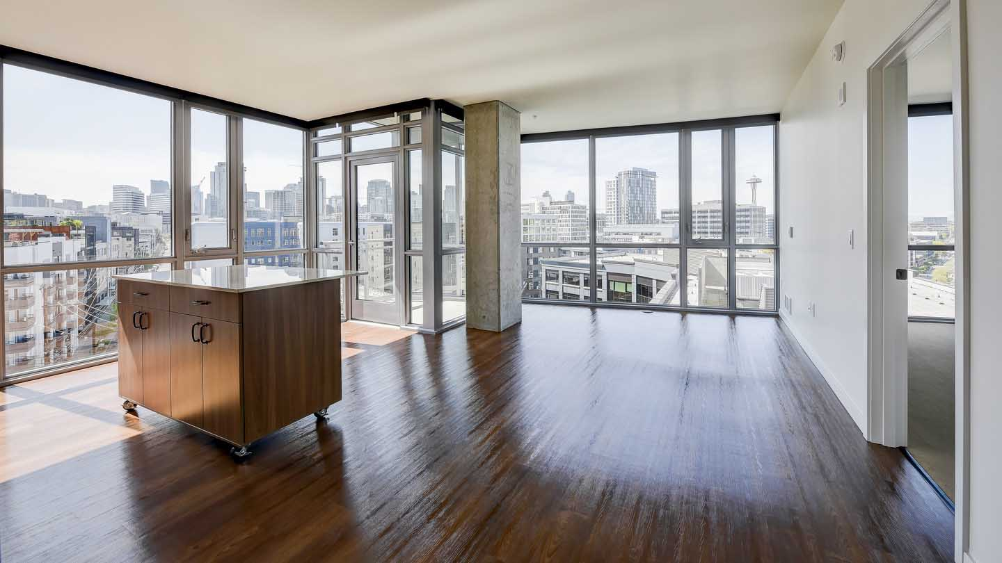 $850/mo Single Room in Beautiful Seattle Luxury Apartment for rent
