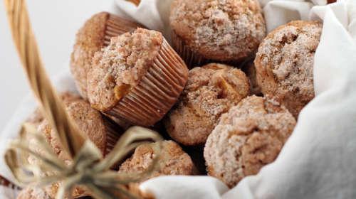 Pumpkin Streusel Cannabis Muffins