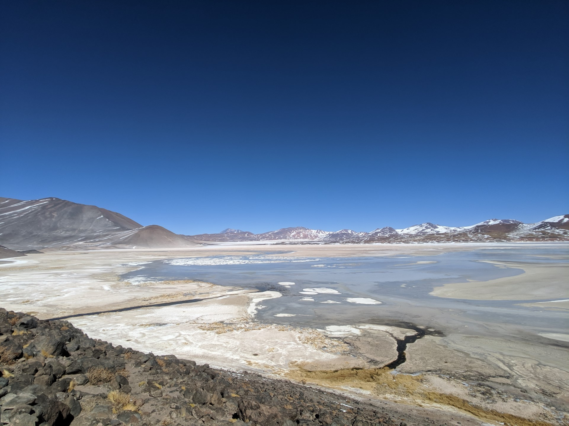 This is a mix between a lake and some salt flats