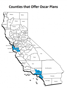 Counties that offer Oscar plans