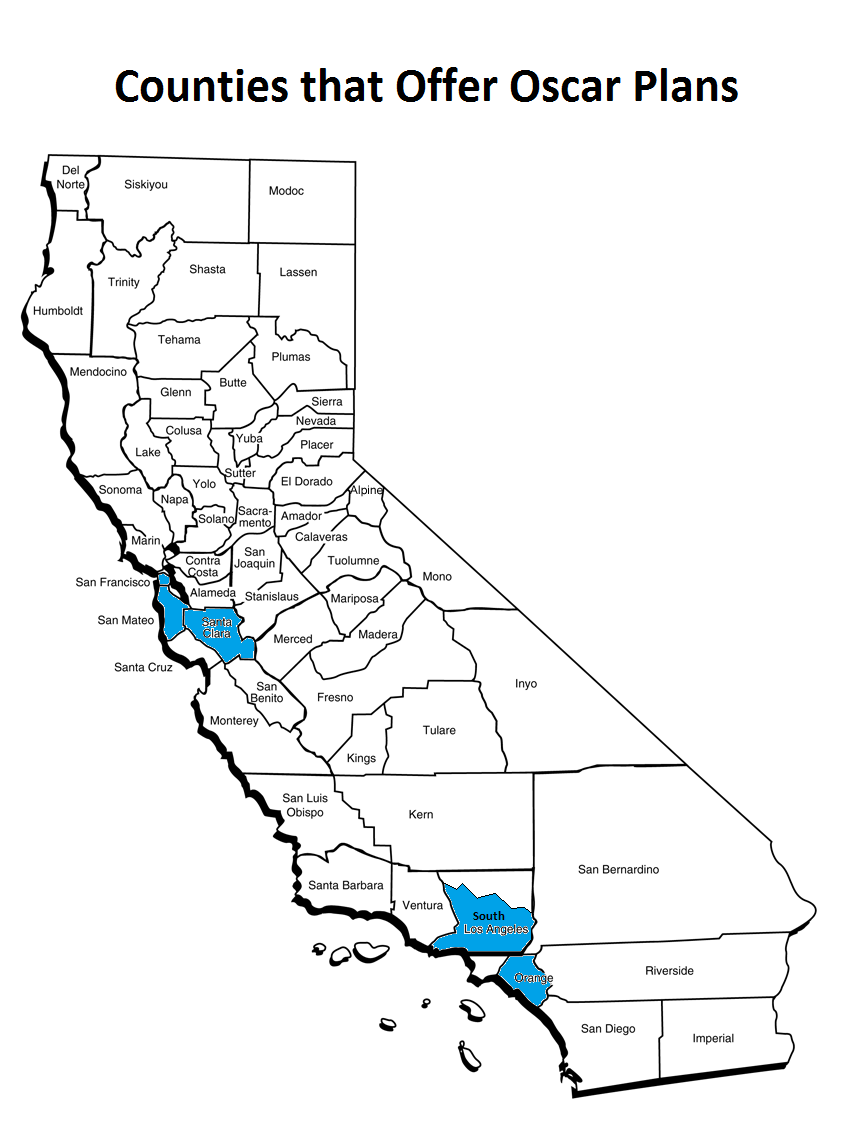 Oscar Plans vs Anthem/Blue Shield in California Regions