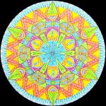 Mandala-Petal-Mounted-Black-Complete-900x905px