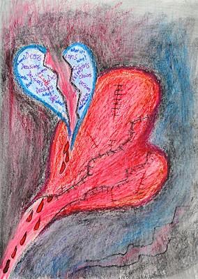 Journal-Page-Broken-Heart-497x700px