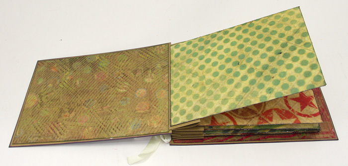 Inside Book Cover Paper : Live fun stitched envelope treasure book