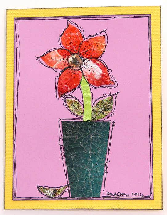 magazine-paper-cards-red-flower-teal-vase-img_3760-542x700px