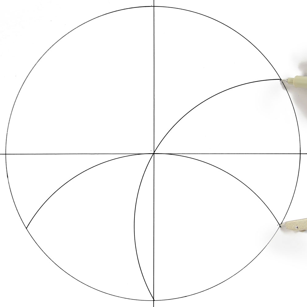How To Draw A Mandala With A Compass Howtogetcreativecom
