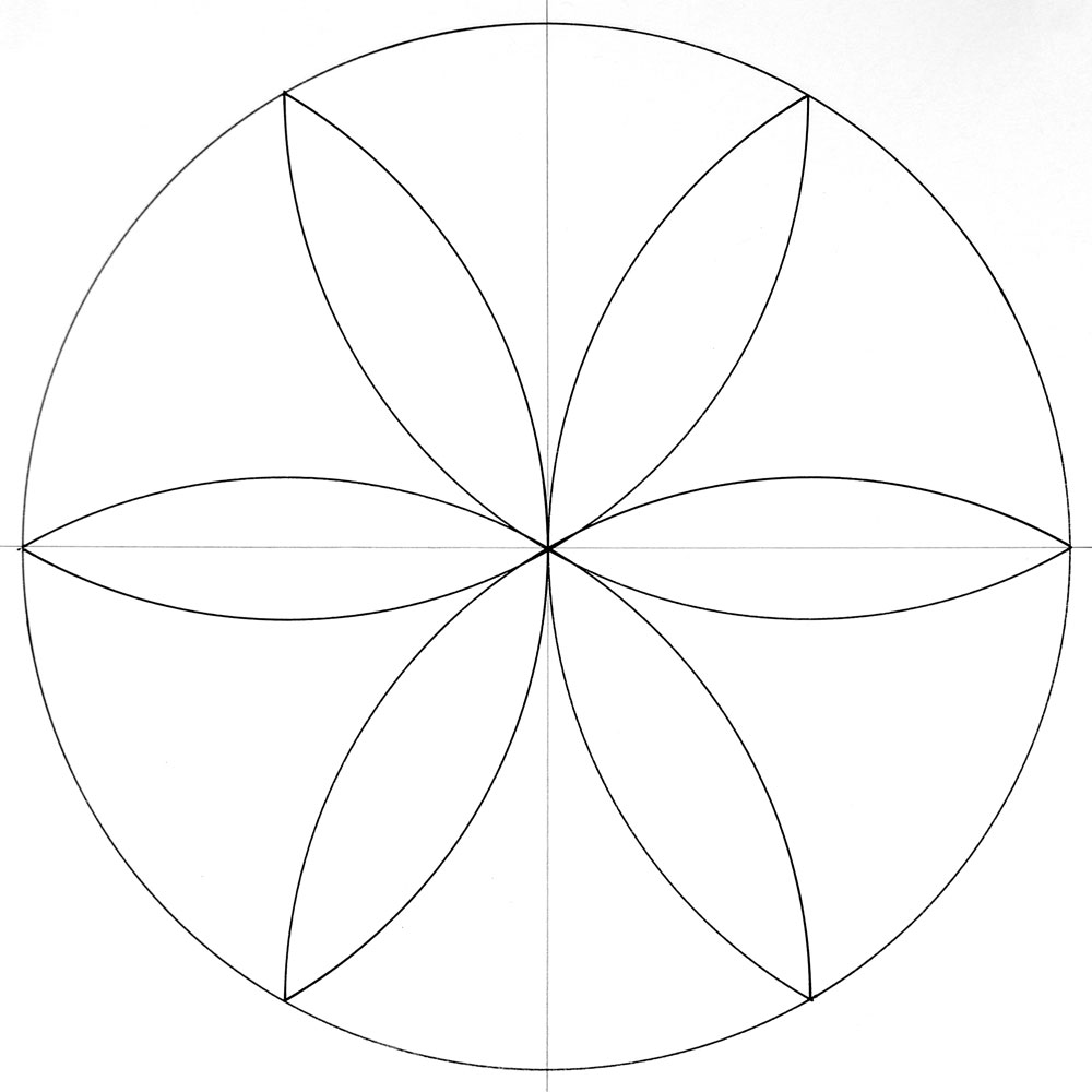 How To Draw A Mandala With A Compass