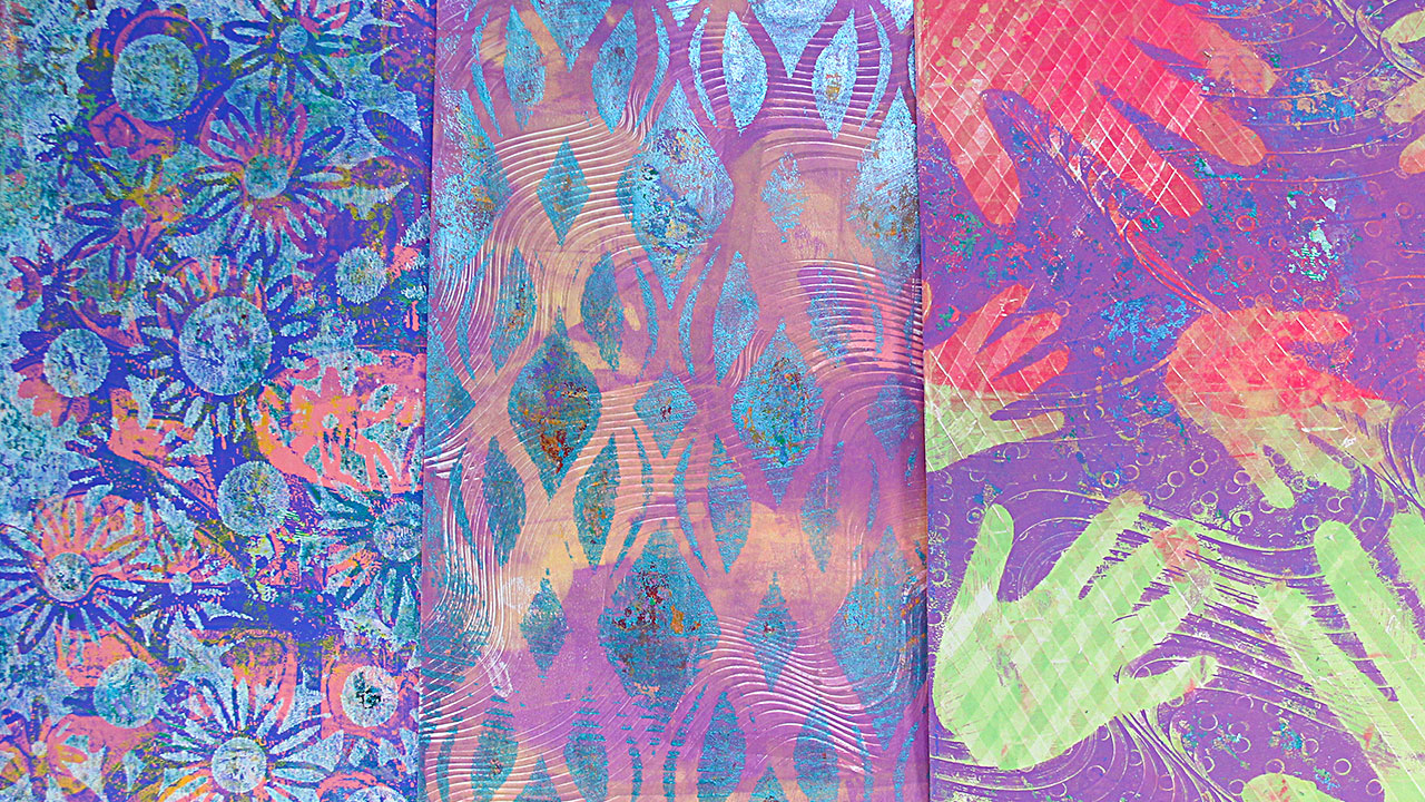 Gelli Arts Printing Plate 9 x 12