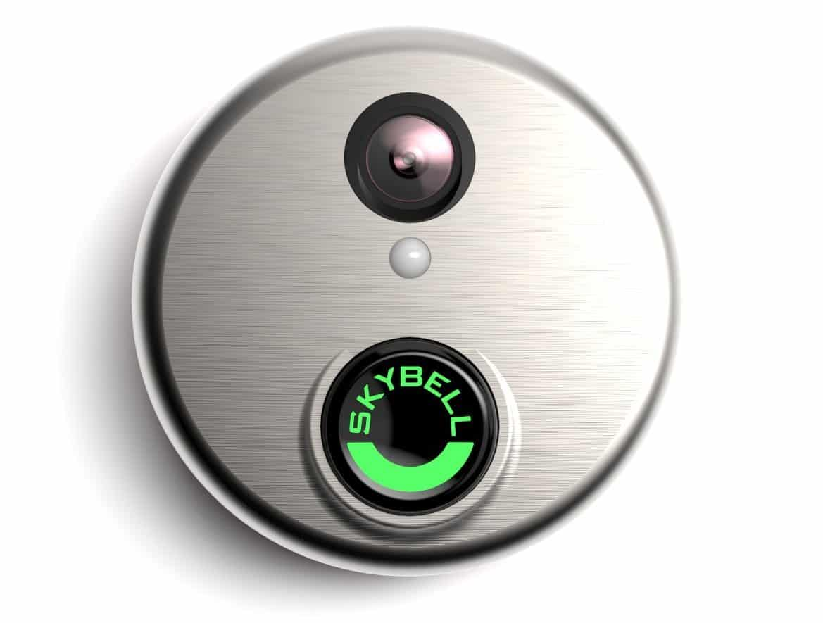 best smart doorbell with nightvision: SkyBell HD Silver