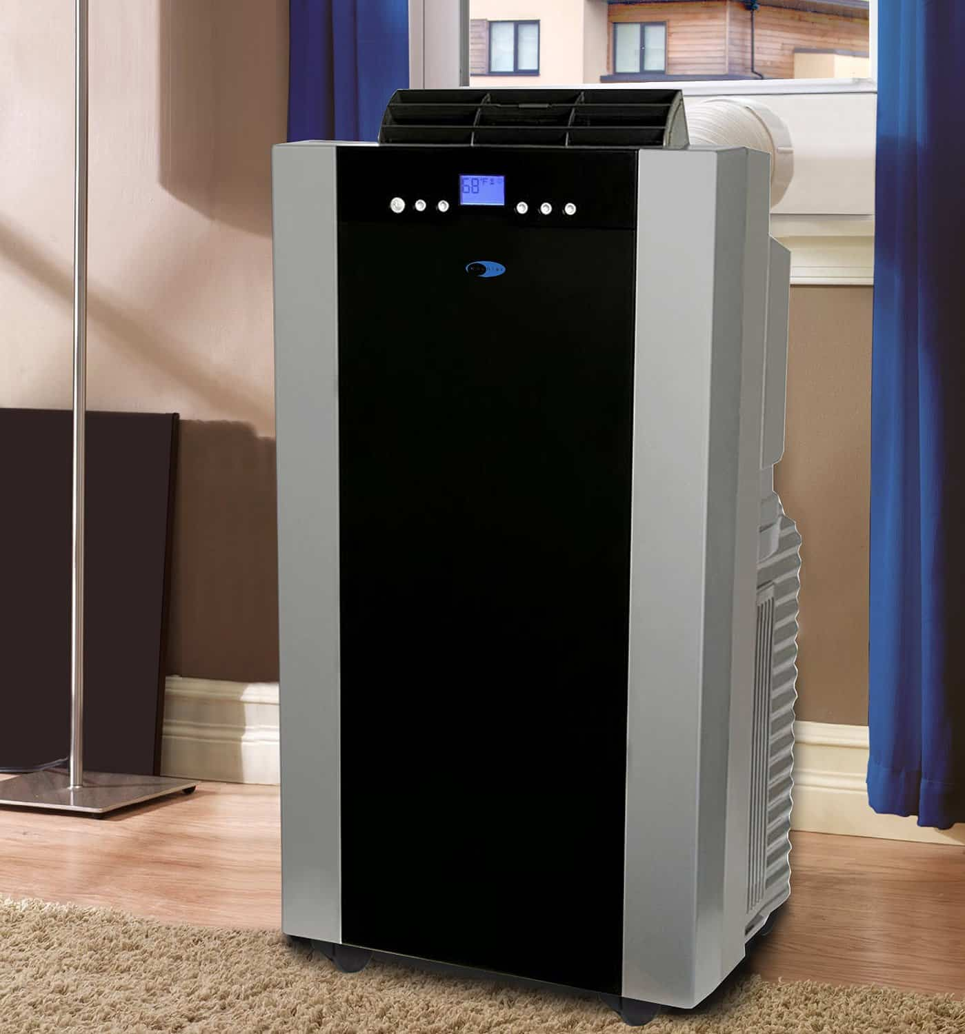 #2C3F9F Best Whynter 14 000 BTU Dual Hose Portable Air Conditioner  Best 9863 14000 Portable Air Conditioner photos with 1399x1500 px on helpvideos.info - Air Conditioners, Air Coolers and more