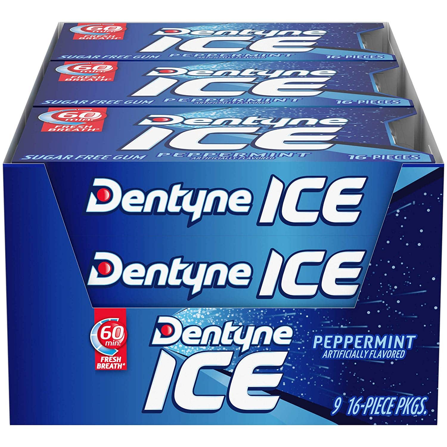 Dentyne Ice Peppermint Sugar Free Gum (9-Pack)