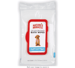 Nature's Miracle Deodorizing Spring Water Wipes (100 Count)