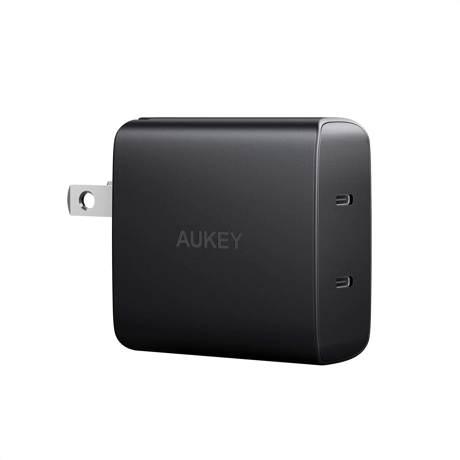 AUKEY 36W 2-Port Ultra Compact USB C Charger