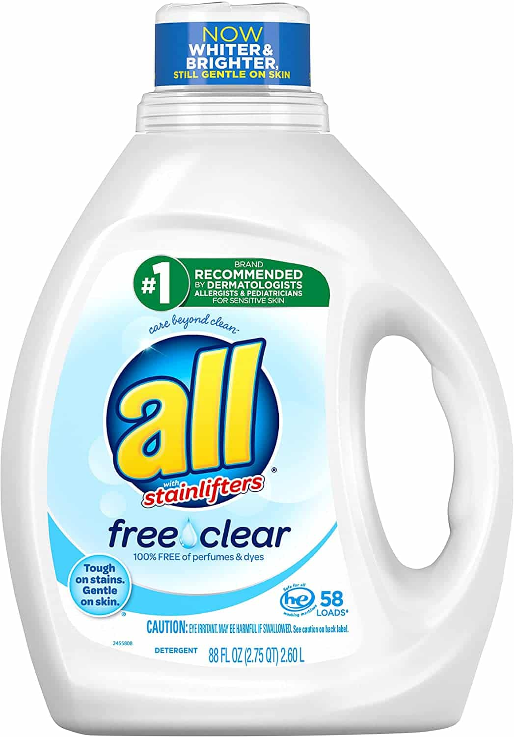 All Liquid Laundry Detergent (88 Fluid Ounce)
