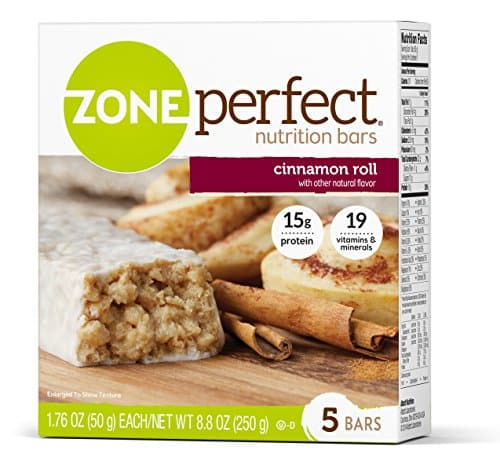 ZonePerfect Cinnamon Roll Nutrition Snack Bars (30-Count)