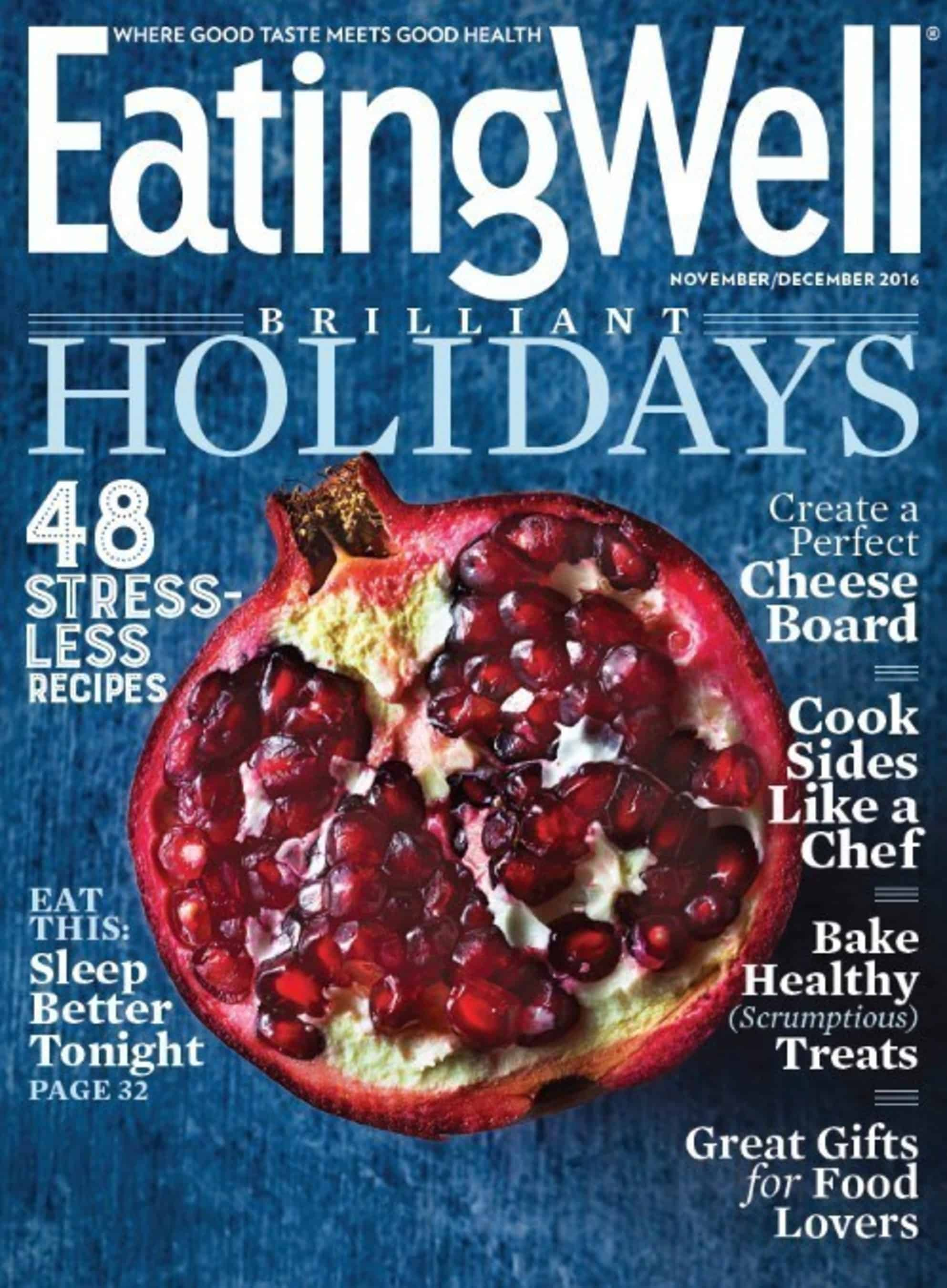 EatingWell Magazine Print Subscription (1-year auto-renewal)
