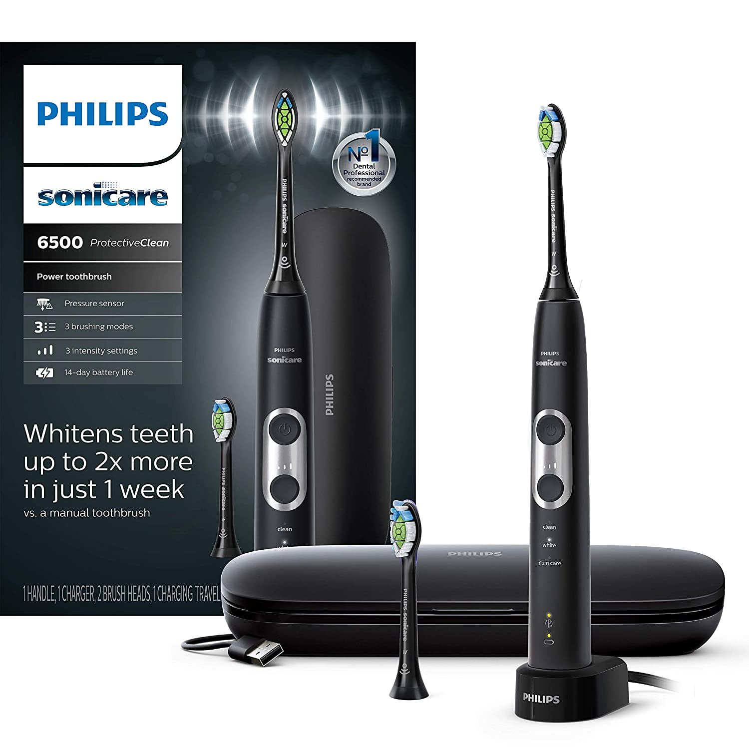 Philips Sonicare ProtectiveClean 6500 Electric Toothbrush