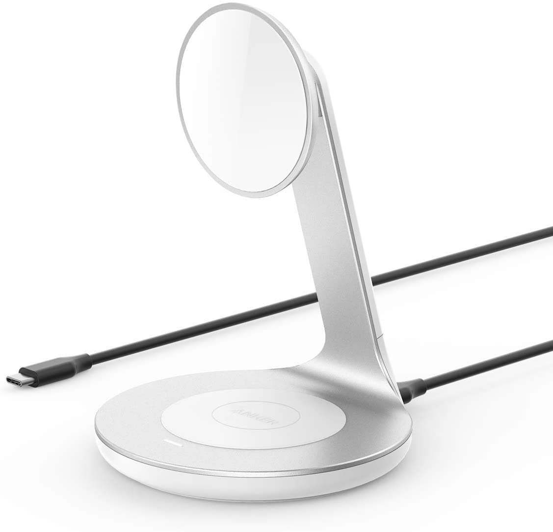 Anker PowerWave Magnetic 2-in-1 Wireless Charging Stand
