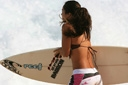 Title: Taira with Board Surfer: Barron, Taira Type: Portraits