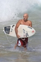 Title: Dean with Board Surfer: Randazzo, Dean Type: Portraits