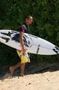 Title: Tamaroa with Board Surfer: McComb, Tamaroa Type: Portraits