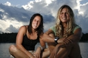 Title: Chelsea and Sofia Portrait Surfer: Hedges, Chelsea Type: World Champs