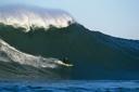 Title: Jeff Clark Backside at Mavs Surfer: Clark, Jeff Type: Legends