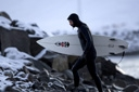 Title: Dan On the Rocks Location: Iceland Surfer: Malloy, Dan Type: Portraits
