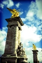 Title: French Statue Photo Of: stock Type: Tourism
