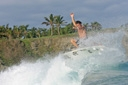 Title: Cory Frees the Fins Location: Dominican Republic Surfer: Lopez, Cory Type: Action