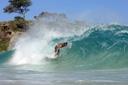 Title: Cory Under the Lip Location: Dominican Republic Surfer: Lopez, Cory Type: Barrel
