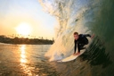 Title: Jonathan Sunset Barrel Surfer: Dupont, Jonathan Type: Action